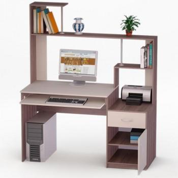 Компьютерный стол Рональд-2 с надстройкой
