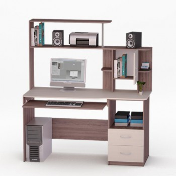 Компьютерный стол Рональд-3 с надстройкой