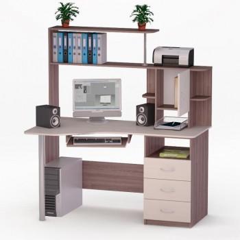 Компьютерный стол Роберт-4 с надстройкой