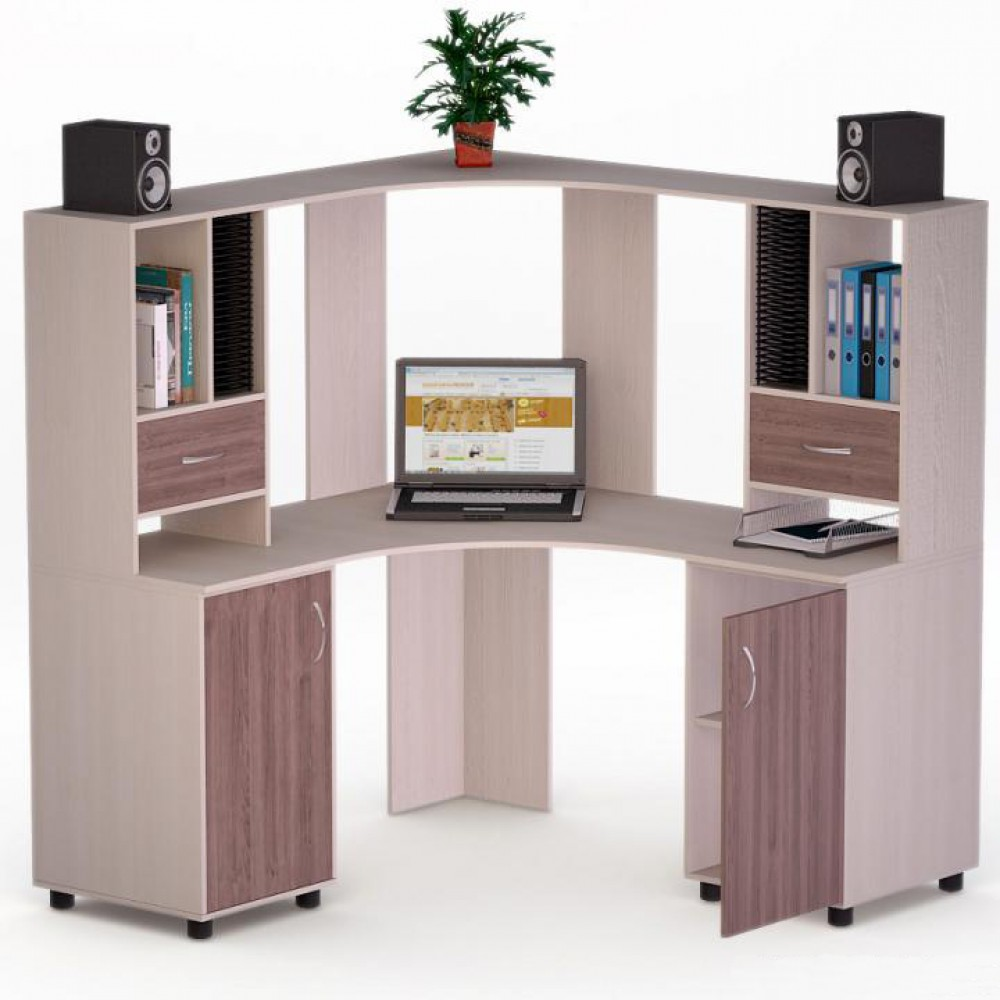 """Компьютерный стол роберт-8 """" купить компьютерный стол недоро."""