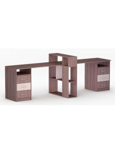Письменный стол двухместный Рональд-47