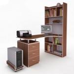 """Компьютерные столы со стеллажом серии """"Атлас"""""""