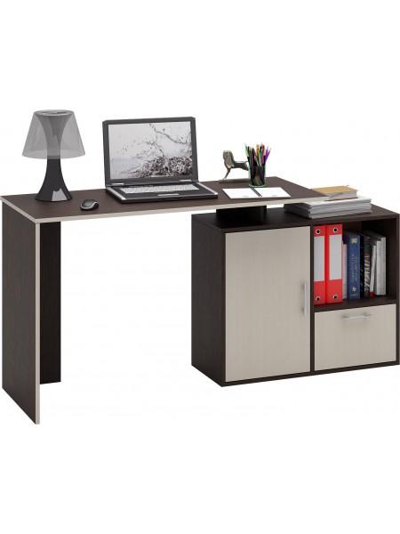 Компьютерный стол Слим-4 прямой правый