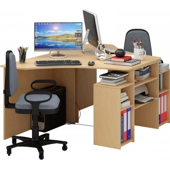 Компьютерный стол Корнет-3 на двоих