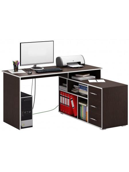 Угловой компьютерный стол Краст-2 правый