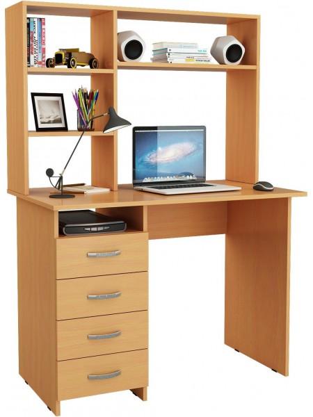 Письменный стол Милан с надставкой