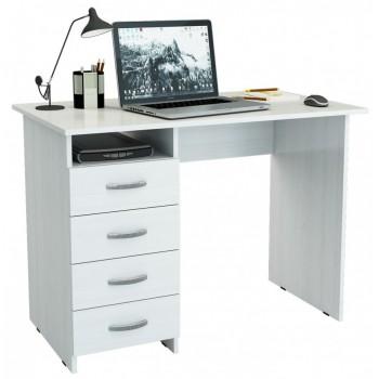 Белый письменный стол Милан