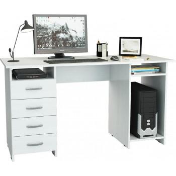 Белый стол Милан-6
