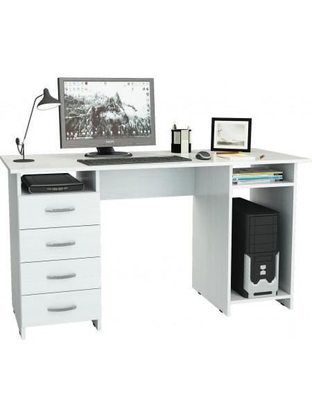 Письменный стол Милан-6 Белый