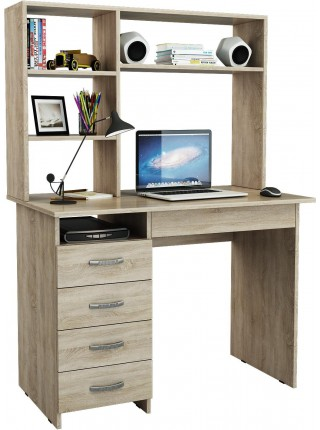 Письменный стол Милан-1 с надставкой