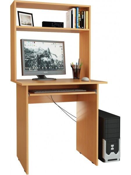 Компьютерный стол Милан-2П с надставкой