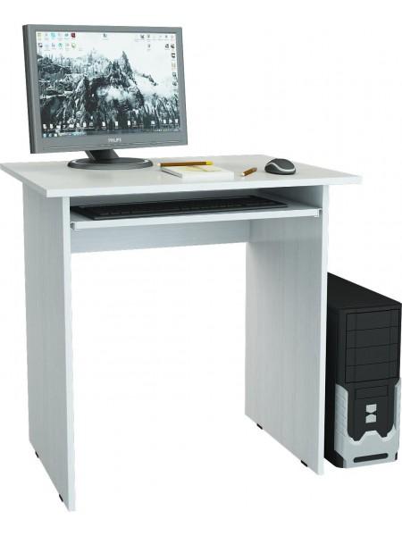 Письменный стол Милан-2П Белый