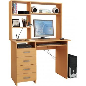 Компьютерный стол Милан-3 с надставкой