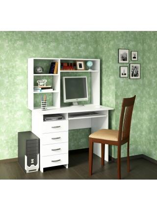 Письменный стол Милан-3 с надставкой