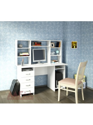 Письменный стол Милан-6 с надставкой