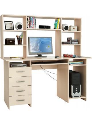 Письменный стол Милан-6П с надставкой