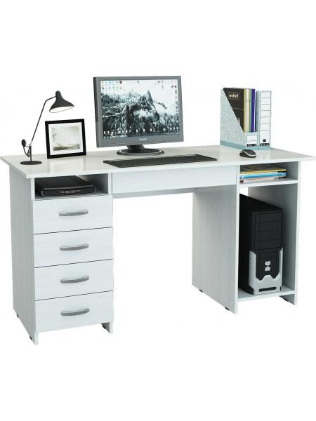 Письменный стол Милан-6Я Белый