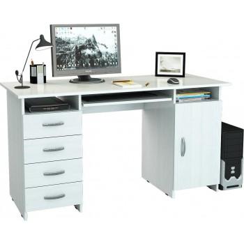 Белый стол Милан-7П