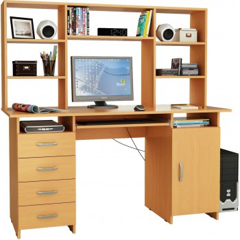 Письменный стол Милан-7П с надставкой