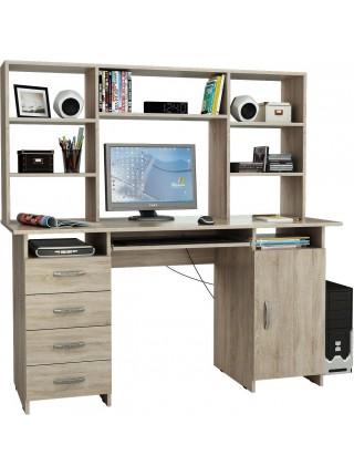 Компьютерный стол Милан-7П с надставкой