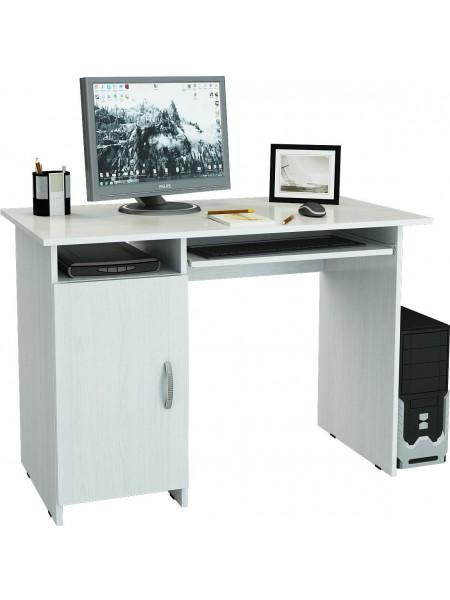 Письменный стол Милан-8П Белый