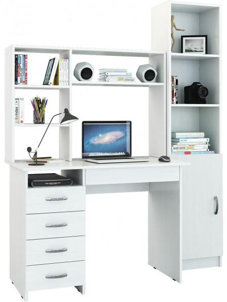 Компьютерный стол УШ-1 Белый