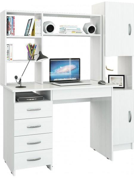 Компьютерный стол УШ-10 Белый
