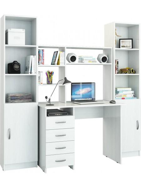 Компьютерный стол УШ-11 Белый