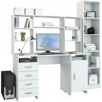 Компьютерный стол УШ-17 Белый