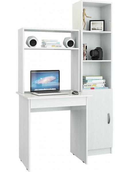 Компьютерный стол УШ-2 Белый