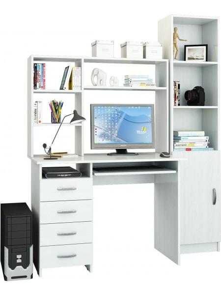 Компьютерный стол УШ-3 Белый