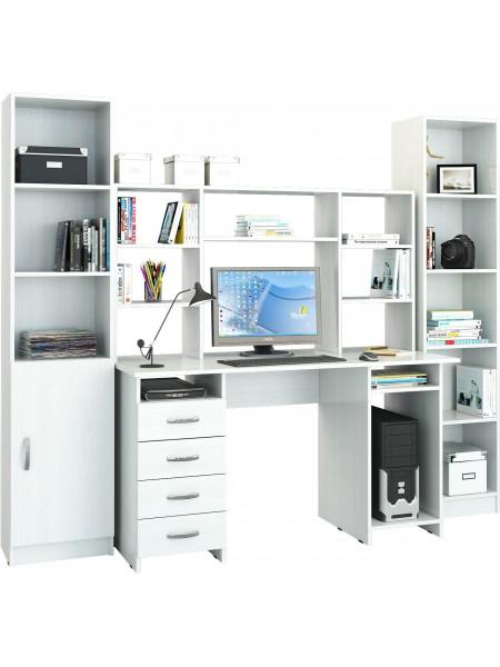 Компьютерный стол УШ-6 Белый