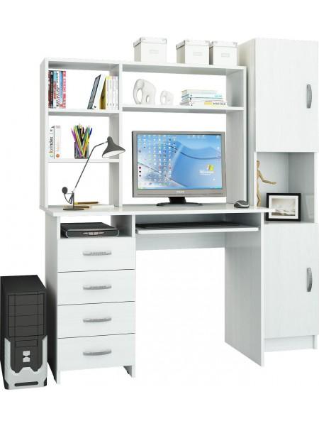 Компьютерный стол УШ-7 Белый