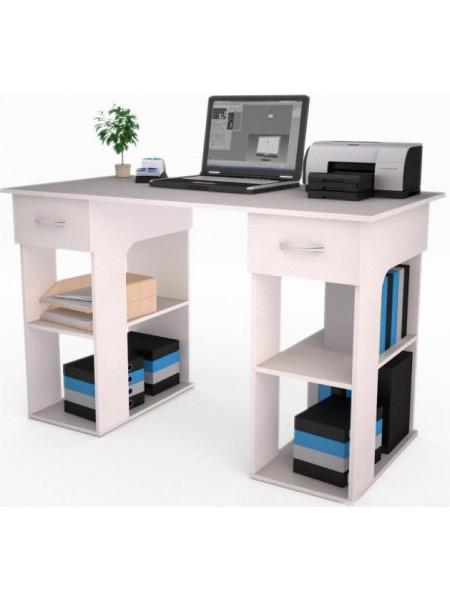Письменный стол Лестер-17 Белый