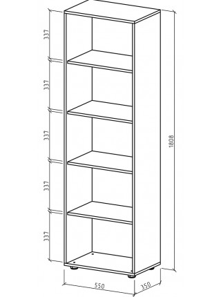 Шкаф Остин-2 бельевой