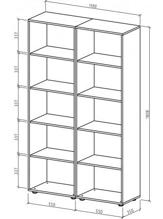 Шкаф Остин-4 бельевой