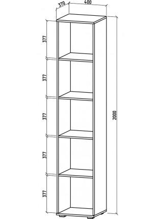 Шкаф Тунис-1 бельевой