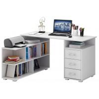 Письменный стол Барди-1 Белый угловой