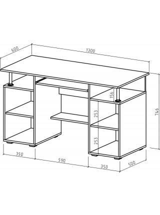 Компьютерный стол Амбер-5
