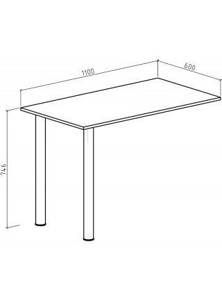 Письменный стол Феликс-6