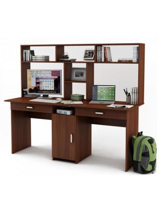 Письменный стол Лайт-10Я с надстройкой