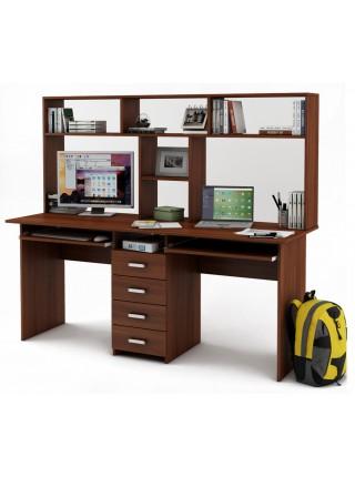 Письменный стол Лайт-11К с надстройкой