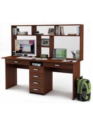 Письменный стол Лайт-11Я с надстройкой