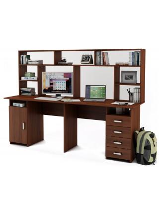 Письменный стол Лайт-13 с надстройкой