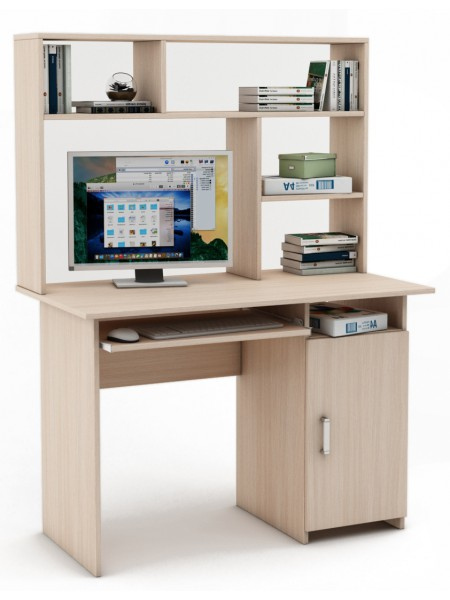 Письменный стол Лайт-3К с надстройкой