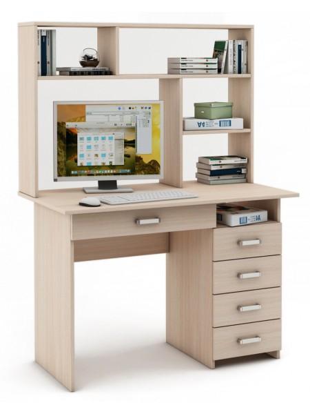 Письменный стол Лайт-5Я с надстройкой