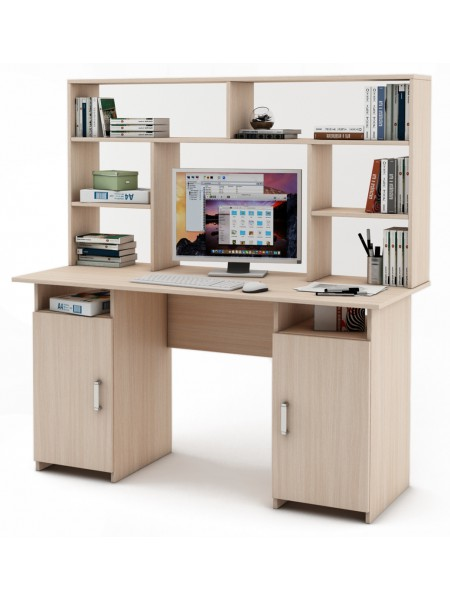 Письменный стол Лайт-6 с надстройкой