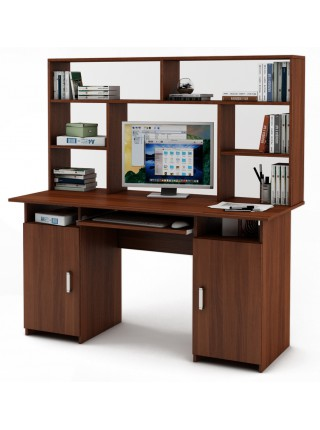 Письменный стол Лайт-6К с надстройкой