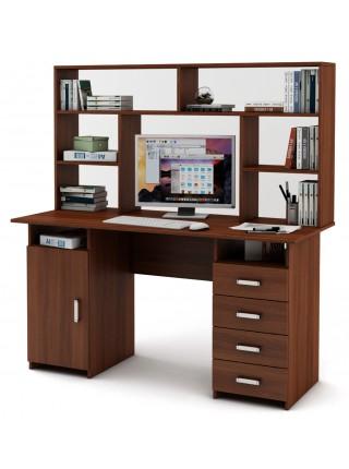 Письменный стол Лайт-7 с надстройкой