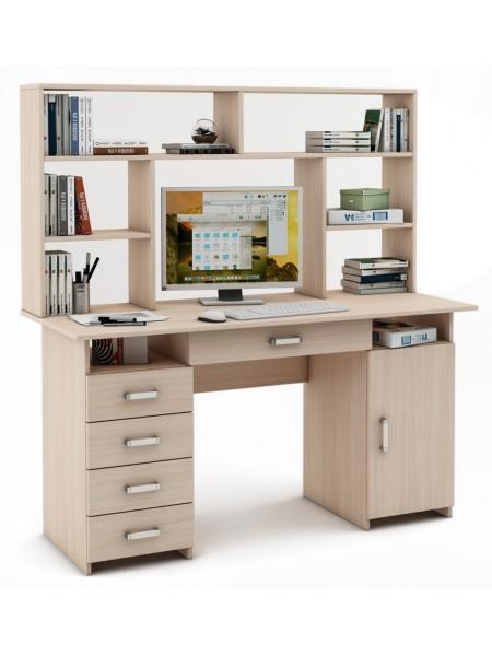 Письменный стол Лайт-8Я с надстройкой